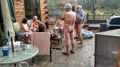 Nudist Campfire